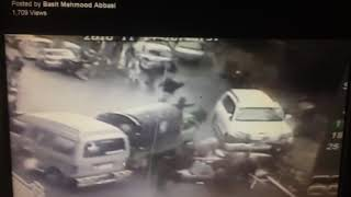 Car accident video in murree today