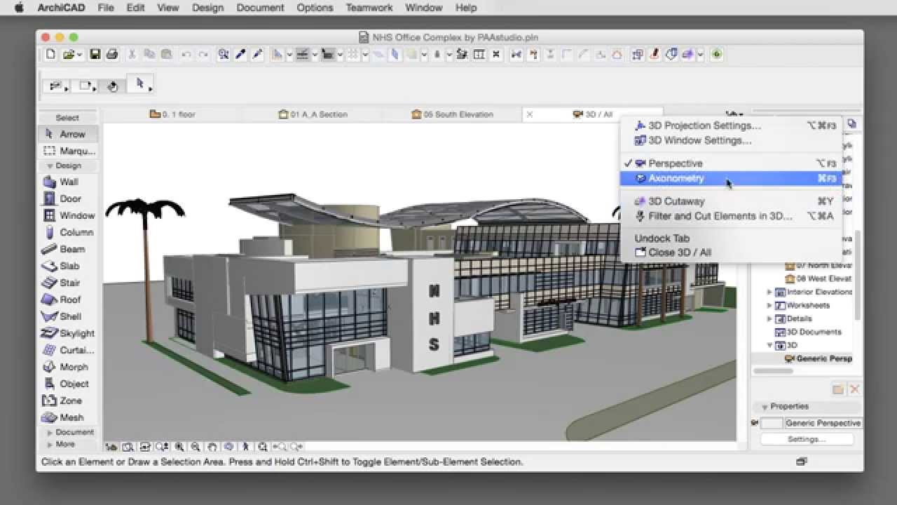 User interface improvements of archicad youtube for Home design 3d 5 0 crack