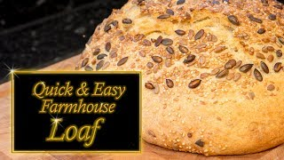 Farmhouse loaf made easy at home