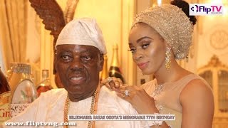 PARTY LIKE A BILLIONAIRE: RAZAK OKOYA'S MEMORABLE 77TH BIRTHDAY (Nigerian Lifestyle & Entertainment)