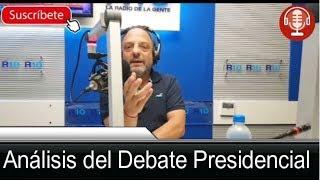 Análisis del Debate Presidencial - 14/10/19