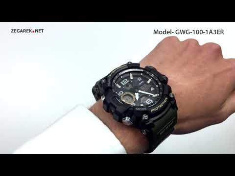 Casio G-SHOCK Master Of G GWG-100-1A3ER Mudmaster - Zegarek.net