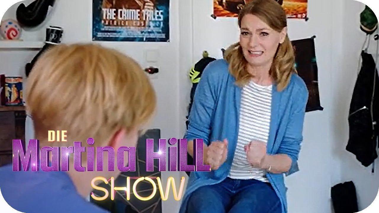 Hill füße martina Martina Hill