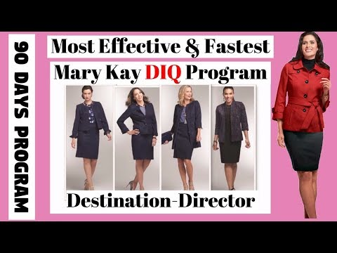 How To Become A Mary Kay DIQ & Director Fast - The Most Effective & Fastest MK D.I.Q 90 Days Program