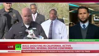 Mass shooting in San Bernardino, California; 3 suspects at large