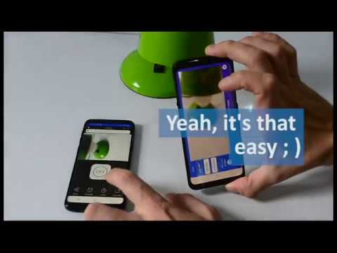 Connecting mobile camera with eWeLink mobile app