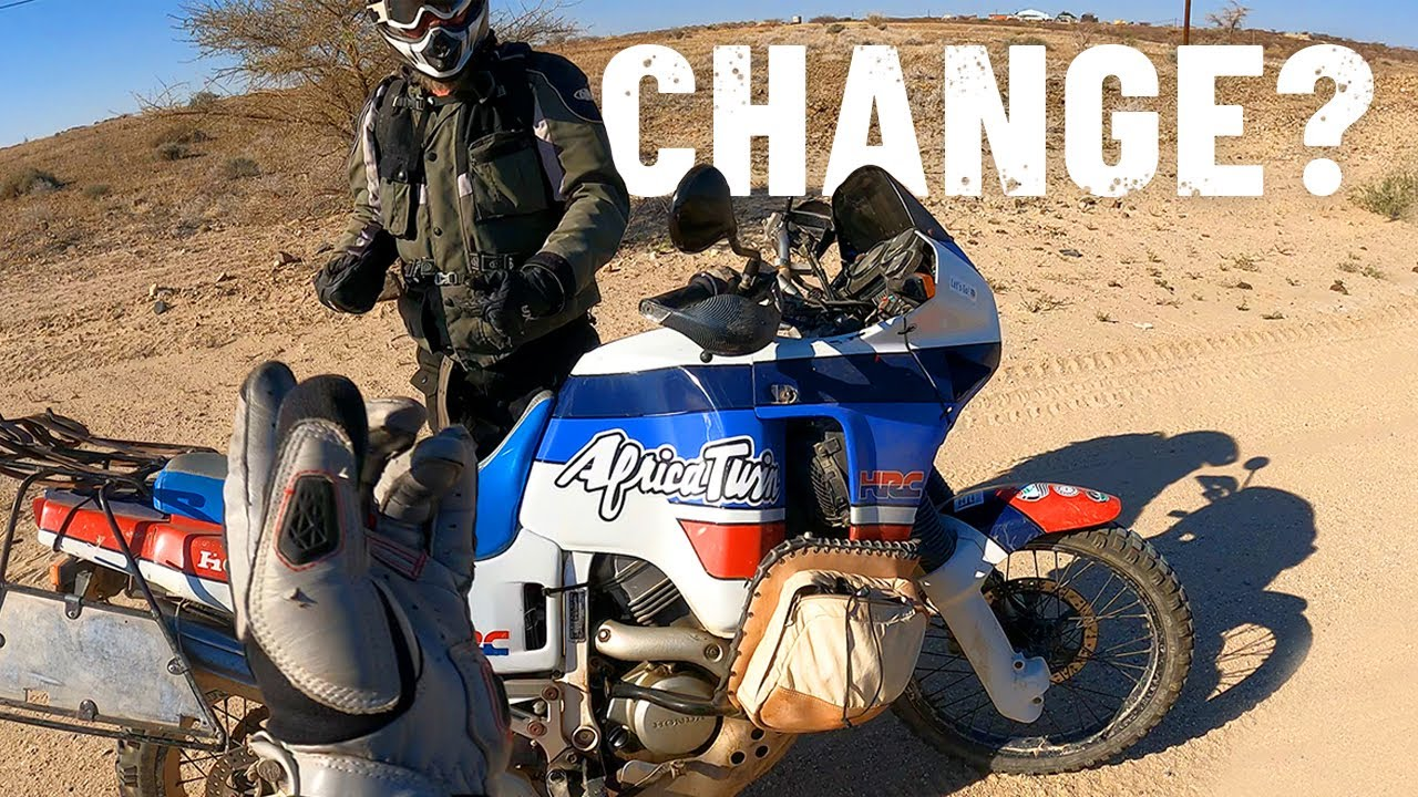 Change my CRF250L for a Honda Africa Twin from 1988 with 150.000 kilometres?! [S5 - Eps. 54]