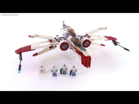 Lego Star Wars Arc 170 Fighter From 2005 Set 7259 Review Youtube