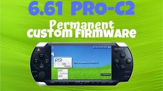 PSP 6.61 PRO-C2 Permanent Custom Firmware