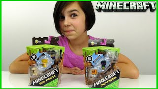 Minecraft - Mini Figure 3 Pack - Toy Review