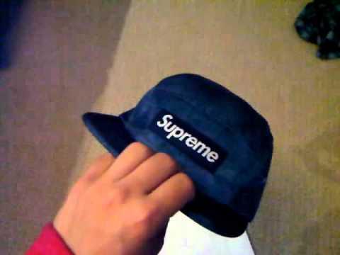 2821c0d2ff6 SUPREME FOR SALE!! blue croc camp hat - YouTube