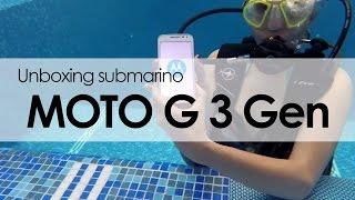 MOTO G 3°generación Unboxing submarino