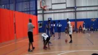 Josh Igwe C/O 2016 *FULL GAME Part 1* (White #2) STATS in Description