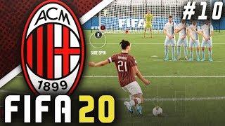 ZLATAN THE FREE-KICK GOD!! - FIFA 20 AC Milan Career Mode EP10