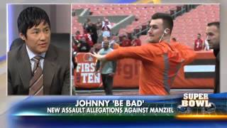 Super Bowl Sunday discussing Roger Goodell, Johnny Manziel & Concussions