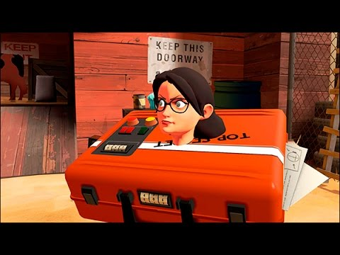 Miss Pauling turns into the briefcase