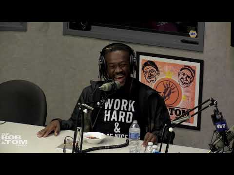 The BOB & TOM Show - WWE Superstar Kofi Kingston Joins Us In the Studio