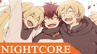 【Nightcore】 Gold  | Lyrics