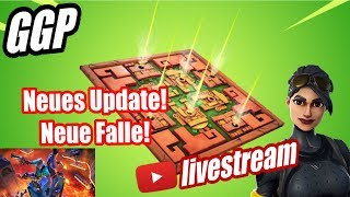Neue Giftfalle! Der Boden ist Lava LTM! Neues Fortnite Mise à jour! Fortnite en direct