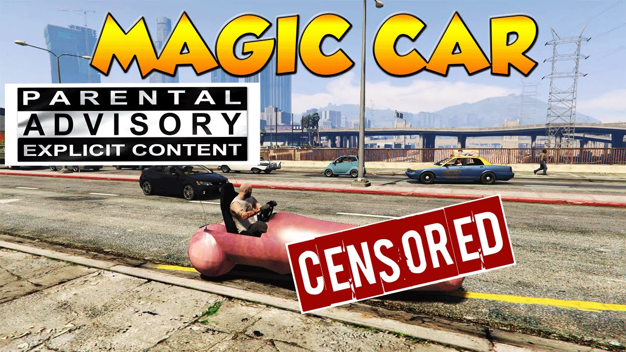 Gta 5 Pc Mods - Magic Car - 18 Nsfw - Youtube-8852