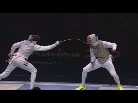 Germany win Bronze in Men's Fencing Team Foil - London 2012 Olympics