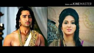 Love story of Arjuna and Vrushali ( Karna's wife )