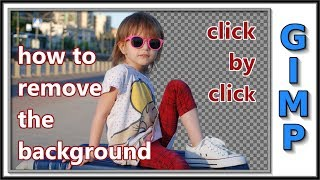 Gimp: Remove The Background And Make It Transparent
