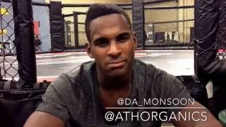 Lorenz Larkin predicts Nate Diaz over Conor Mcgregor at UFC 202 by finish likely by submission