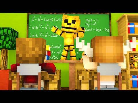 Minecraft School - FNAF Sister Location - GOLDEN FREDDY'S REVENGE?!