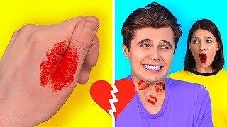 CRAZY TIPS TO GET A BOYFRIEND || Funny Situations and Relatable Facts by 123 GO! SCHOOL
