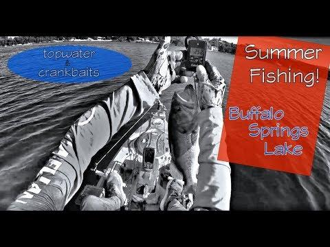 FISHING ON BUFFALO SPRINGS LAKE!
