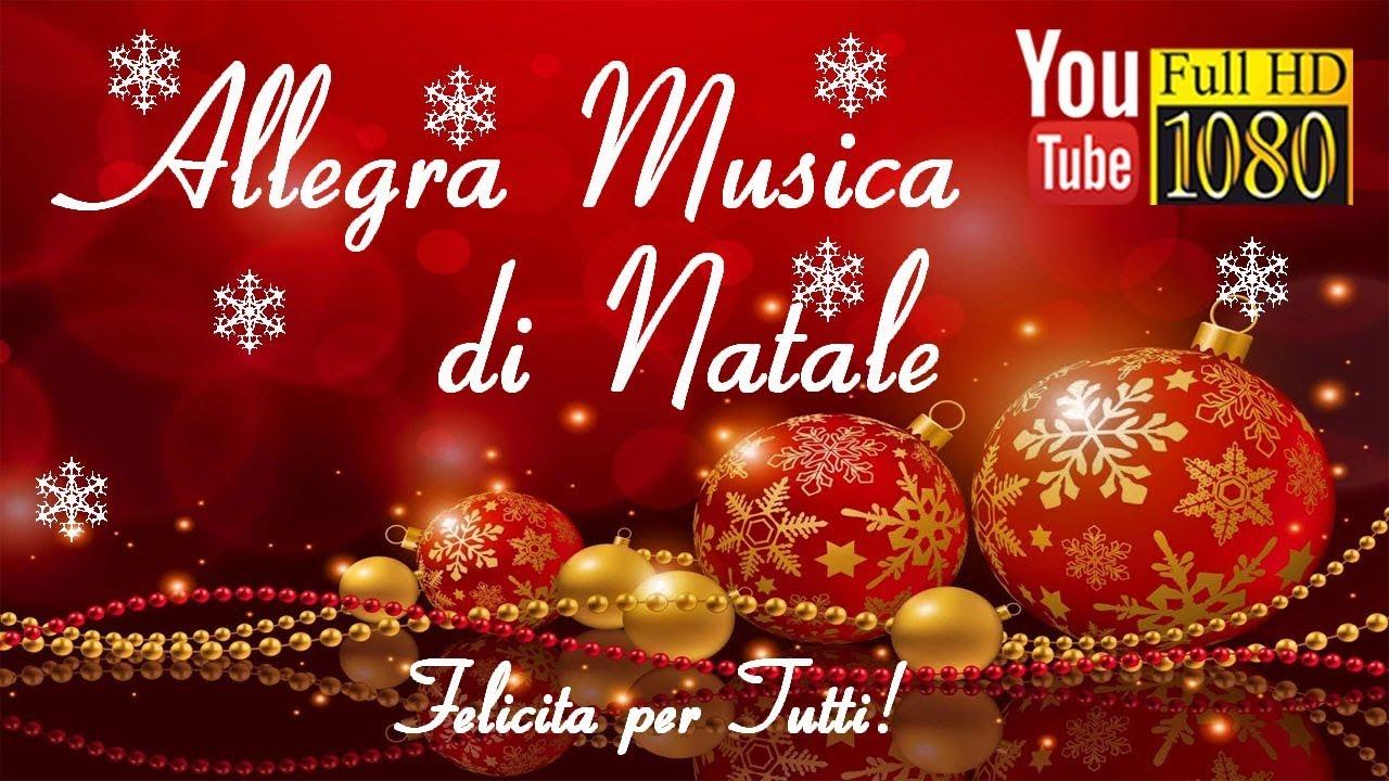 3 Ore Allegra Musica Di Natale Felice Anno Nuovo Musica Rilassante Di Sottofondo Buon Natale Youtube