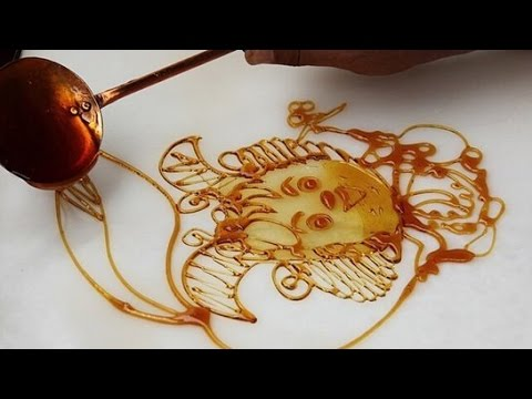 how to make chinese sugar painting
