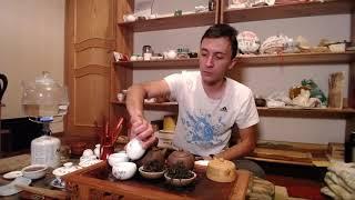 Чайное мастерство (ролик 6) - Ученик впервые заваривает гуандунский чай. Обучение.