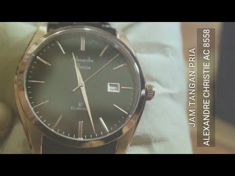 ( Unboxing ) Jam Tangan Alexandre Christie 8558MD Original