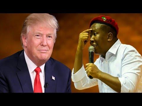 Julius Malema Responds To Donald Trump's Veiled Threats At South Africa