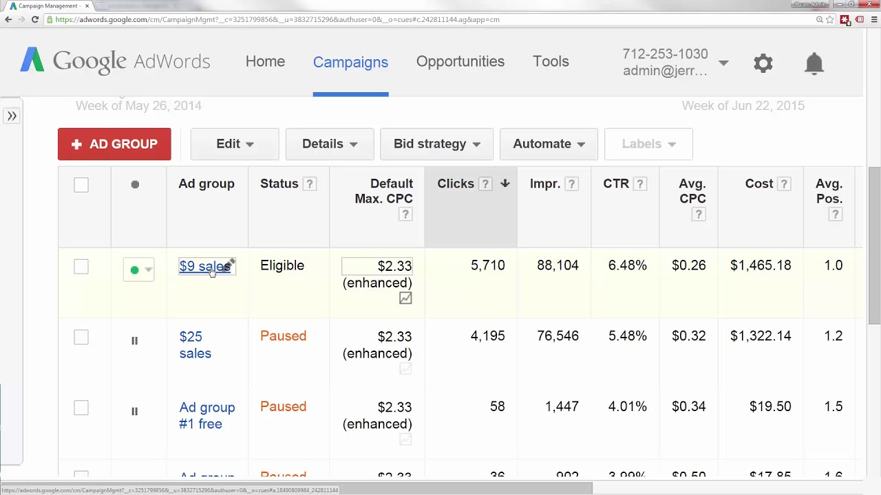 The Complete Google AdWords Course: Beginner to Advanced!