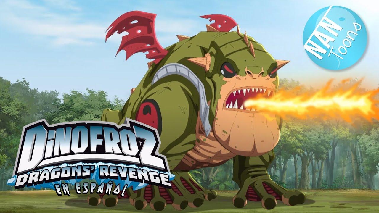 DINOFROZ 2 en español | Temporada 2 Episodio 10 | Dibujos animados sobre dinosaurios y dragones