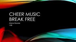 CHEER MUSIC Hidden Oaks Middle School Break Free 1:30 FREE DOWNLOAD