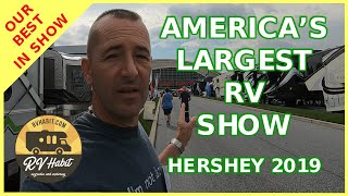 Hershey RV Show 2019 – America's Largest RV Show – 2020 Model Tours