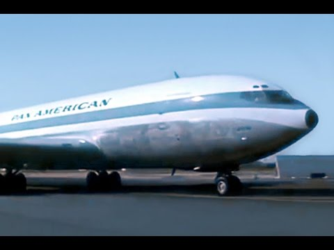 Pan Am Boeing 707 Promo Film - 1959