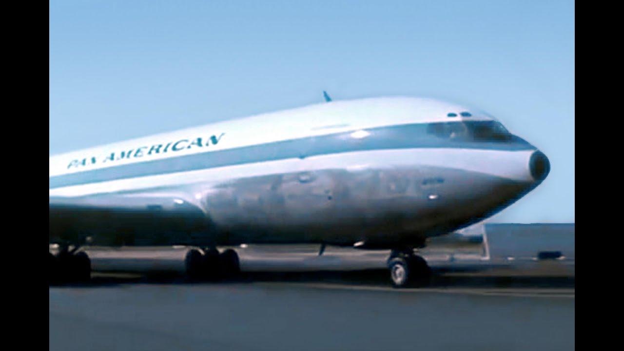 Pan Am Boeing 707 Promo Film 1959 Youtube
