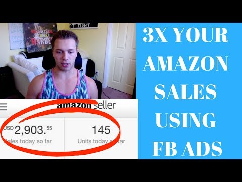 How To 3X Your Amazon Sales Using FB Ads (For Beginners) Pt.2