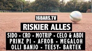 "Trailer: ""Riskier alles"" mit Cro, Sido, MoTrip, Prinz Pi, Megaloh uvm. (16BARS.TV)"
