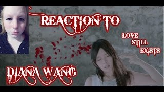 "REACTION TO 王詩安 DIANA WANG ""愛存在 LOVE STILL EXISTS"" MUSIC VIDEO/TAIWAN"