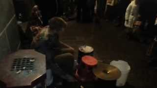 Najlepszy uliczny Grajek perkusista .Street Drummer POLAK