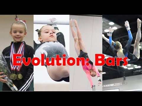 Whitney's Gymnastics Evolution | PART TWO: Bars