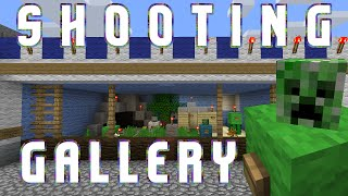 Minecraft : Shooting Gallery : Realistic Amusement Park Builds 13