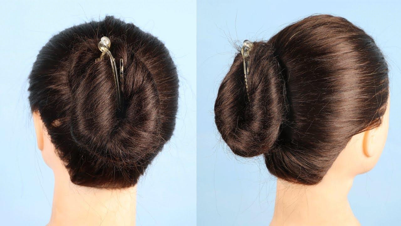 Latest Juda Hairstyle Using Banana Clip Hair Style Girl Simple
