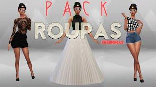 Pack de Roupas Femininas + Bônus The Sims 4